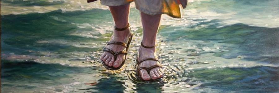 İsa peyğəmbərin su üzərində gəzməsi